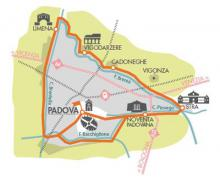 Mini mappa dell'anello fluviale